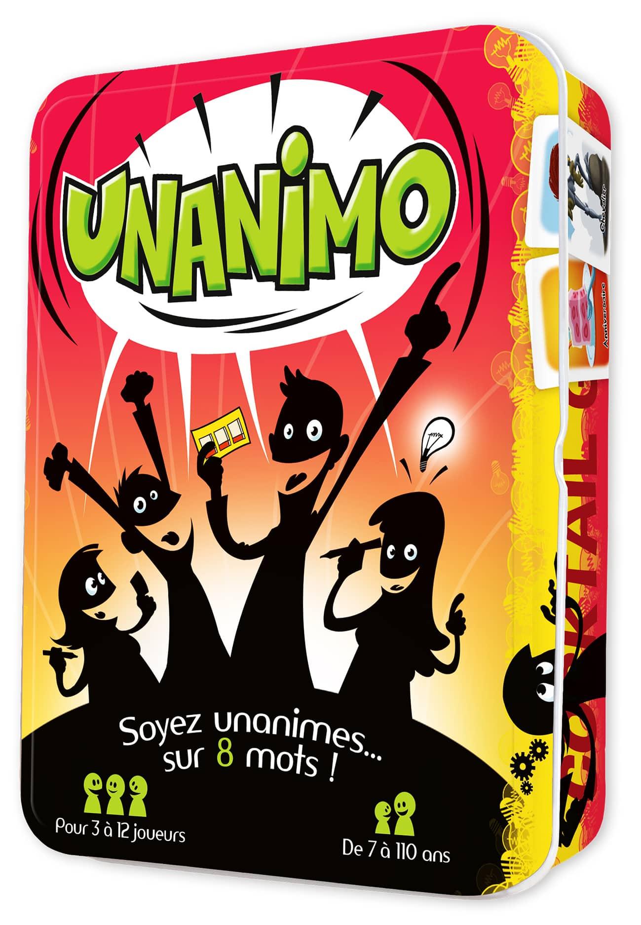 Des jeux pour le FLE : UNANIMO
