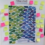 Utilisation du poster lors du festival interculturel de Norwich, Royaume-Uni