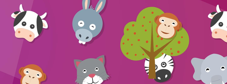 Poster jeu : où sont les animaux ?