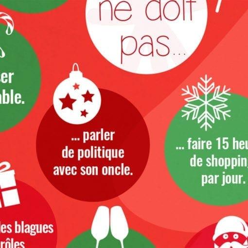 poster FLE Noël