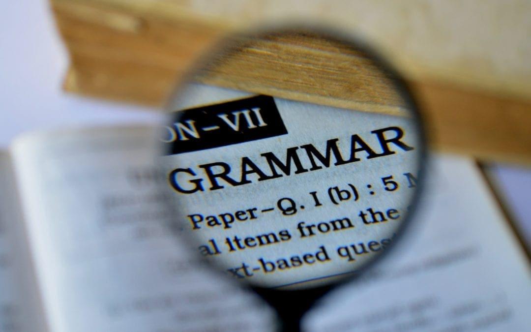 Pratiquer la grammaire avec un document authentique