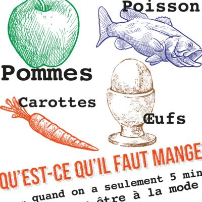 image produit poster aliments