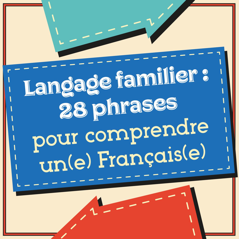 Poster langage familier (+BONUS)