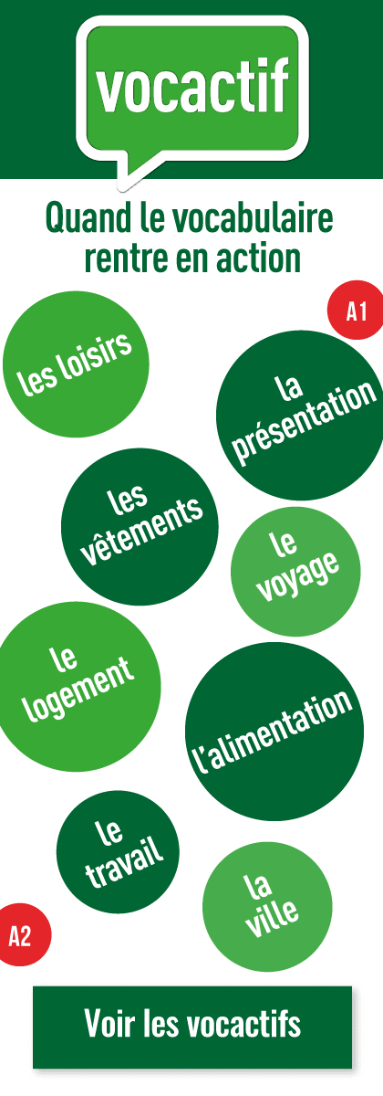 Le vocabulaire en action