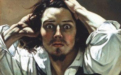 """TOPITO: """"Top 12 des histoires derrière les grandes peintures de l'histoire""""-""""Le désespéré"""" de Gustave Courbet (auteure invitée)"""