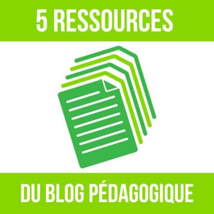 5 ressources du blog
