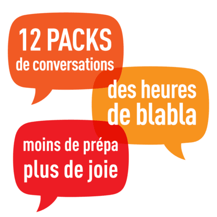 Pack de 12 packs de conversation – 2