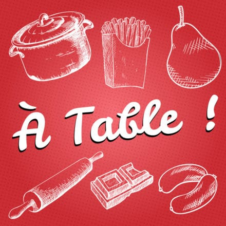 À table ! Le jeu du vocabulaire de la cuisine