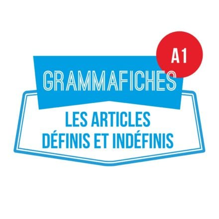 Grammafiche A1 : les articles définis et indéfinis