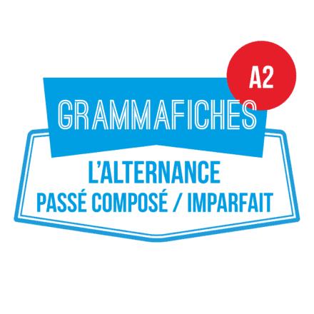 Grammafiche A2 : alternance passé composé/imparfait