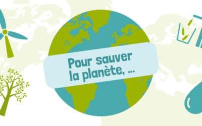 Poster sauver la planète