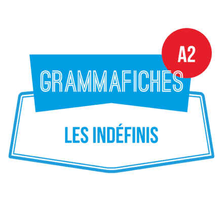 Grammafiche : les indéfinis A2