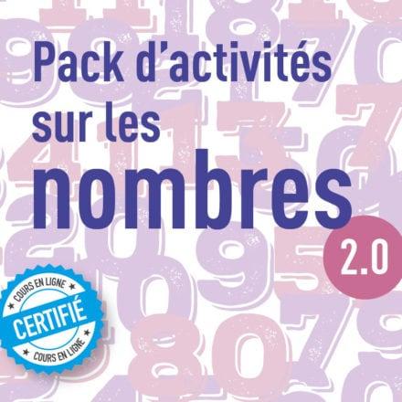 Pack d'activités sur les nombres 2.0