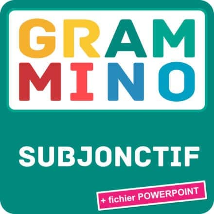 Grammino SUBJONCTIF