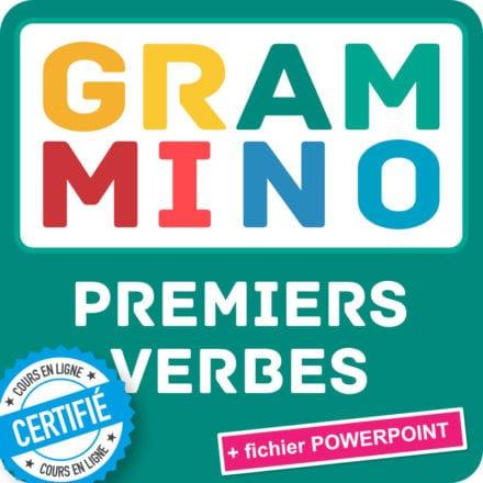 Grammino PREMIERS VERBES