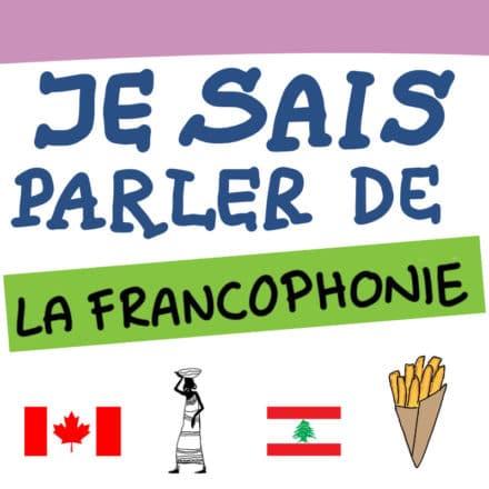 Sketchnote : je sais parler de la Francophonie