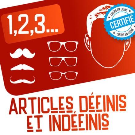 1,2,3… articles définis et indéfinis !