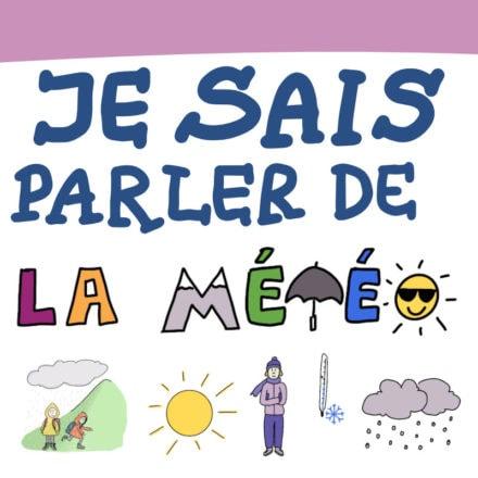 Sketchnote : je sais parler de la météo