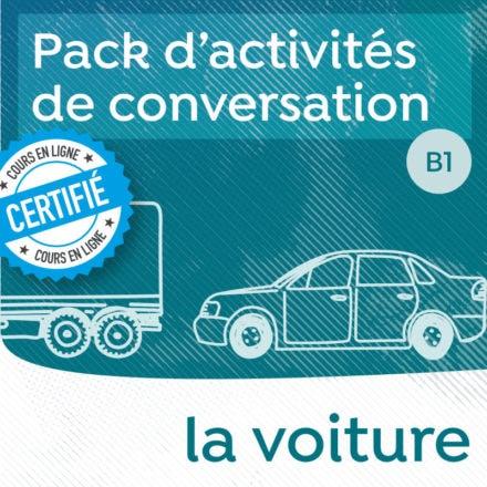 Pack de conversation sur le thème de la voiture B1-B2