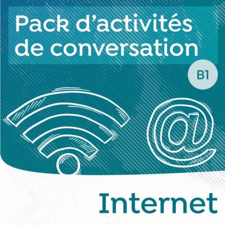 Pack de conversation sur le thème d'Internet B1-B2