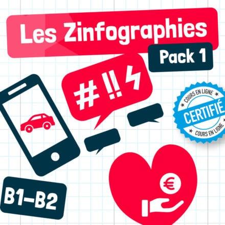 Les Zinfographies – Pack 1 (B1-B2)