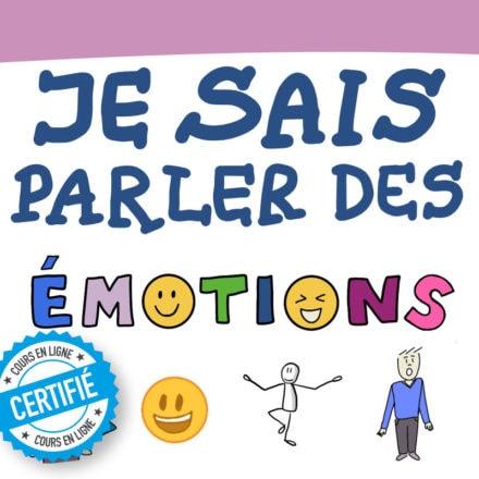 Sketchnote : je sais parler des émotions