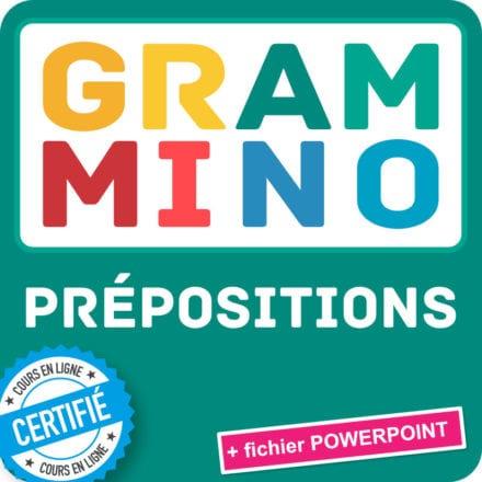 Grammino PRÉPOSITIONS A2+/B1