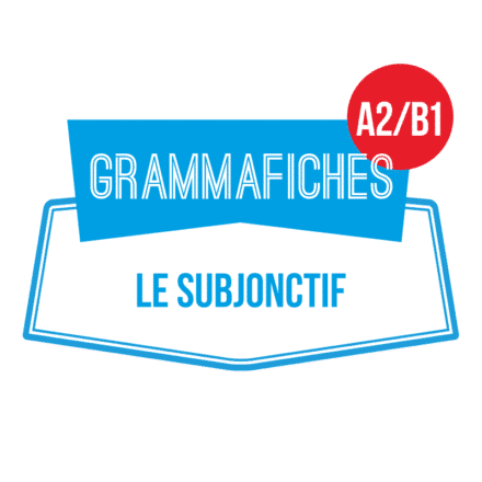 Grammafiche subjonctif A2/B1 (émotions et probabilité)