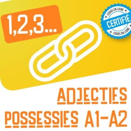 1,2,3… adjectifs possessifs !