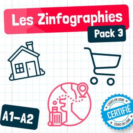 Les Zinfographies – Pack 3 (A1-A2)