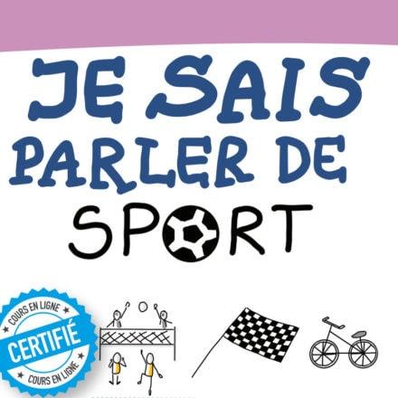Sketchnote : je sais parler de sport