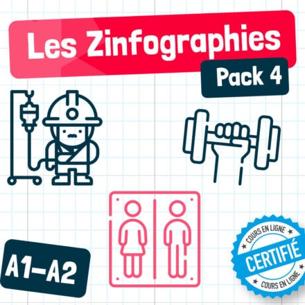Les Zinfographies – Pack 4 (A1-A2)