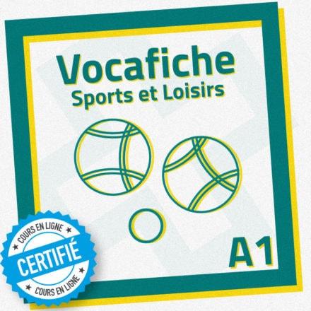Vocafiche A1 : sports et loisirs