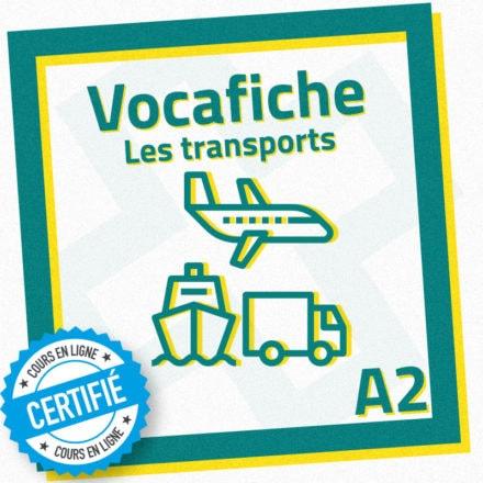 Vocafiche A2 : les transports