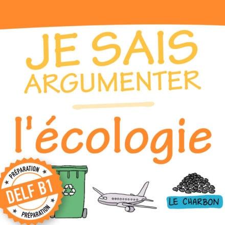 Argumentation : Sketchnotes sur l'écologie