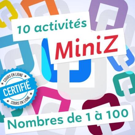 10 MiniZ Nombres de 1 à 100